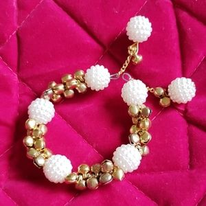 Jewelry - Adjustable bollywood bead and bell bracelets